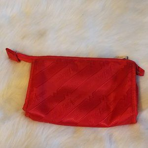 Saks Fifth Avenue Makeup Bag with  Mirror